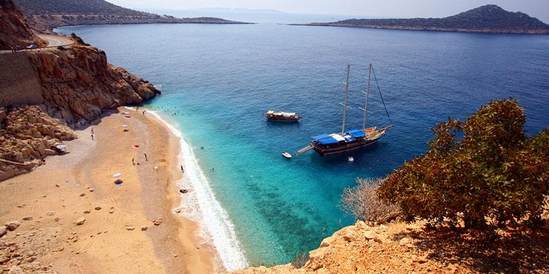 De 4 mooiste stranden van Turkije